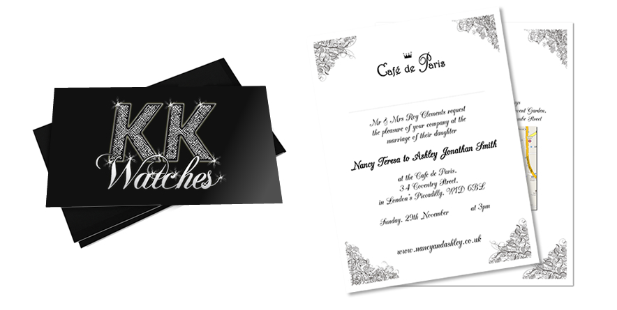 Killer Kettle and wedding invites