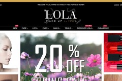 LOLA Make Up – Ecommerce